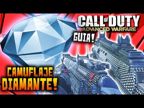 Advanced Warfare CAMUFLAJE DIAMANTE - Como Sacarlo Antes