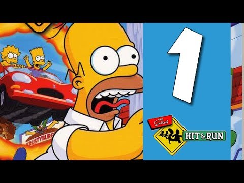 Lets Play The Simpsons Hit and Run: Part 1 - Homers Day