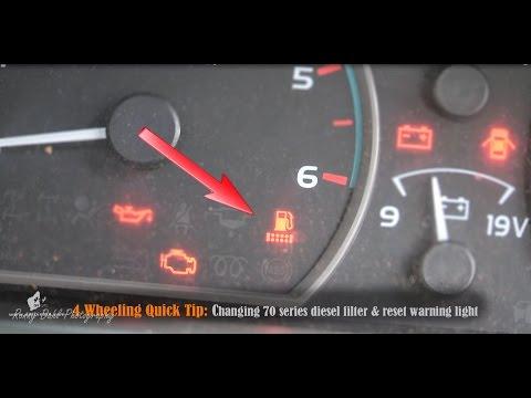 Fuel Filter Light Reset