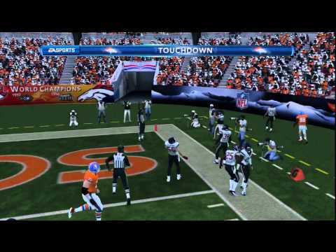 Madden 13:HUGE TURN-A-ROUND--Madden 2013 GAMEPLAY-BRONCOS vs TEXANS