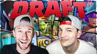 BLIND DRAFT FUN - NICK vs MOLT - Clash Royale