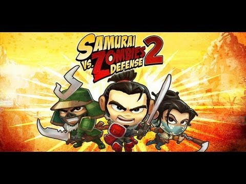 Samurai Vs Zombies Defense 2 Gameplay First Look - SvZ 2 - Android iOS