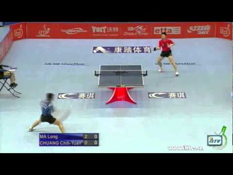 Ma Long vs Chuang-Chih Yuan[ITTF Pro Tour Grand Finals 2011]