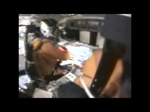 Last minutes on Cockpit cam. +crew communication subtitled. Accident Space Shuttle Columbia