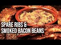 BBQ Spare Ribs with Barbecue Beans recipe