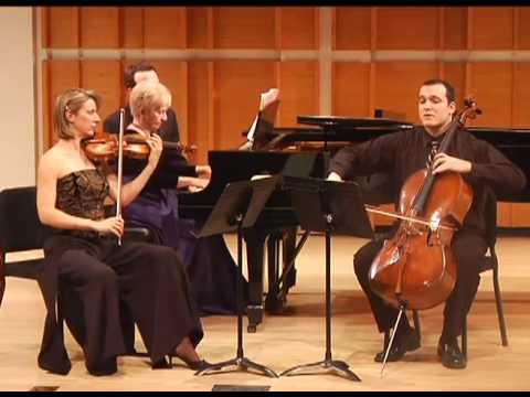 Pitcairn, Braun, Blumenthal-Brahms Piano Trio in C Major, Mvt. II