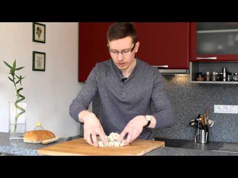 Чешский Чесночный Суп от Running Cheff