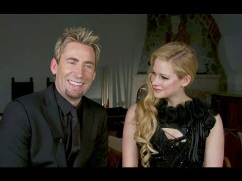 Avril Lavigne & Chad Kroeger Interview 2013