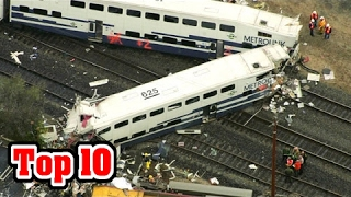 Top 10 DEADLIEST TRAIN Accidents in History
