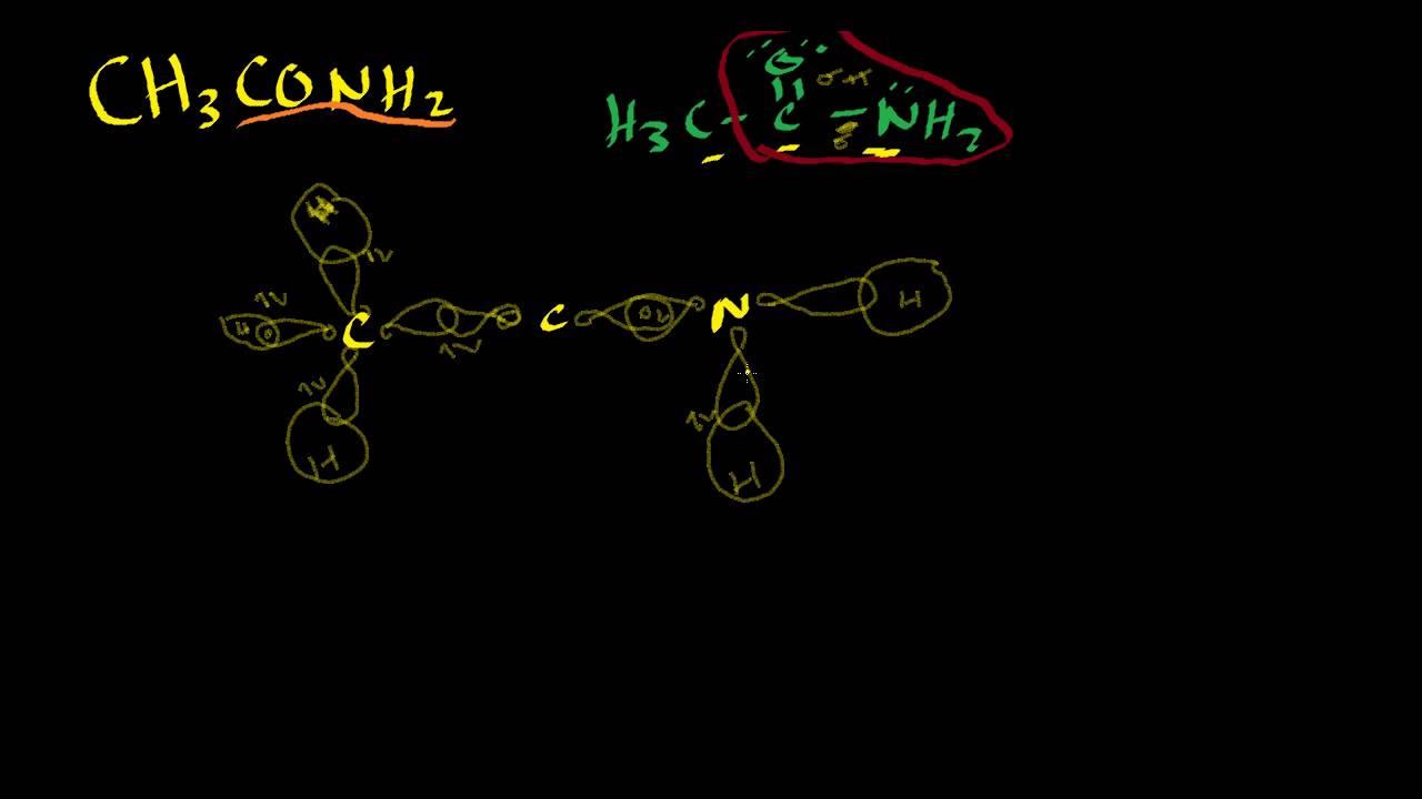 Orbital Diagram Of Ch3conh2