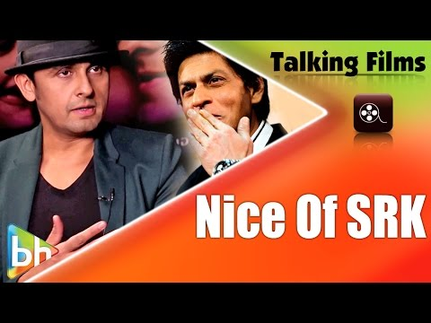 Sonu Nigam Speaks On Aa Bhi Jaa Tu Kahin Se Song and Shahrukh Khan Appreciation