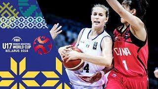 LIVE 🔴- Italy v China - FIBA U17 Women's Basketball World Cup 2018