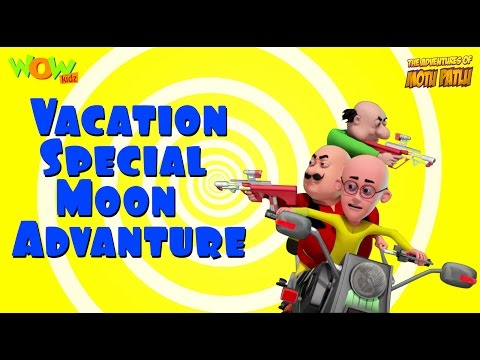 Motu Patlu Vacation Special - Moon Adventure -As seen on Nickelodeon thumbnail