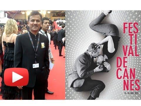 Marathi Movie Actor Girish Kulkarni At Cannes Film Festival With Anurag Kashyap!