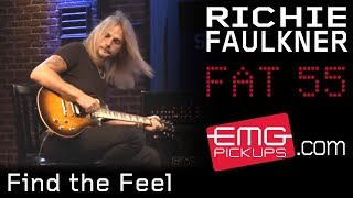 "Richie Faulkner (Judas Priest) - EMG pickupsが""Find The Feel""のスタジオ・ライブ映像を公開 thm Music info Clip"