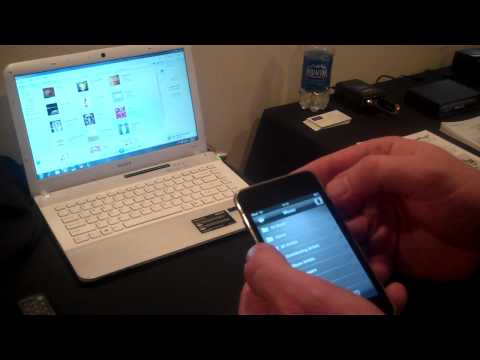 DLNA Demonstration Home at CES 2011