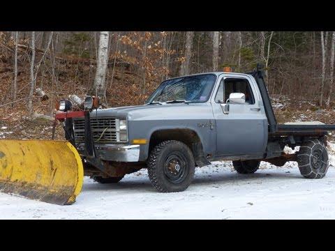 Homemade Snow Plow for Trucks