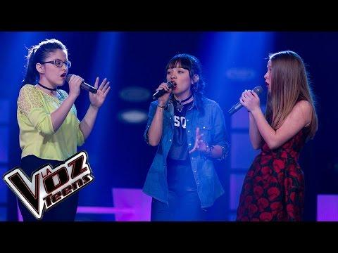 Nikki, Anamaría y Angie cantan ?Bohemian Rhapsody? | Batallas | La Voz Teens Colombia 2016