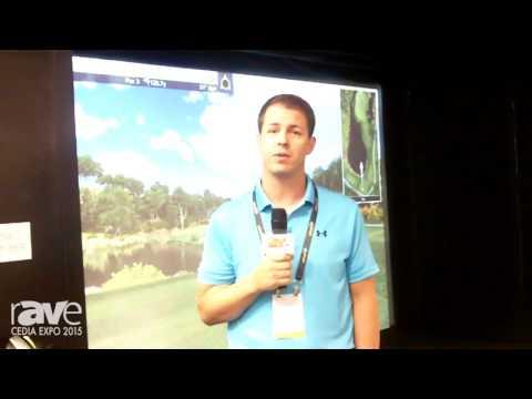 CEDIA 2015: Full Swing Golf Highlights Its Indoor Golf Simulator