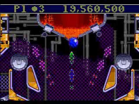 Sonic Spinball Genesis in 10:51
