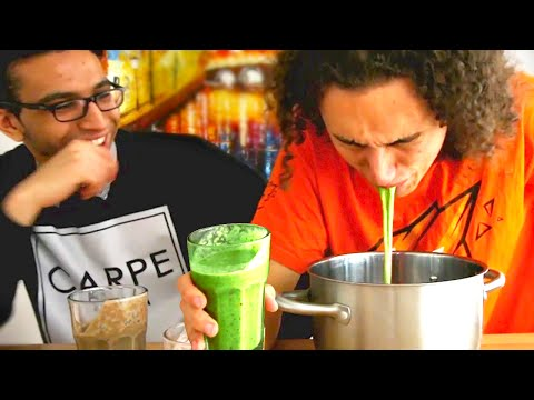 EXTREMELY DISGUSTING SMOOTHIE CHALLENGE!