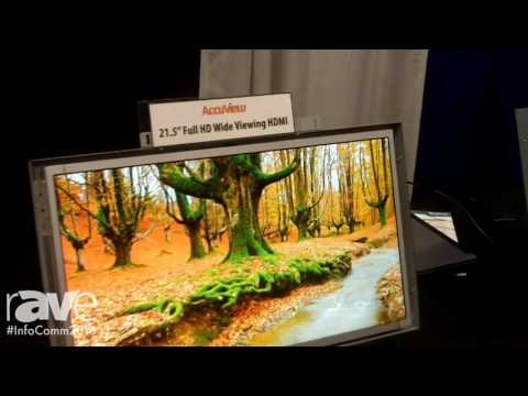 InfoComm 2016: Accuview Launches Embedded Weatherproof Android Display, Weatherproof ATSC:WAM TV, an