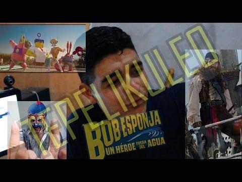 Bob Esponja un Super Heroe fuera del agua | EscopionDorado | BuenFilm | TePelikuleo | Erick Sombras