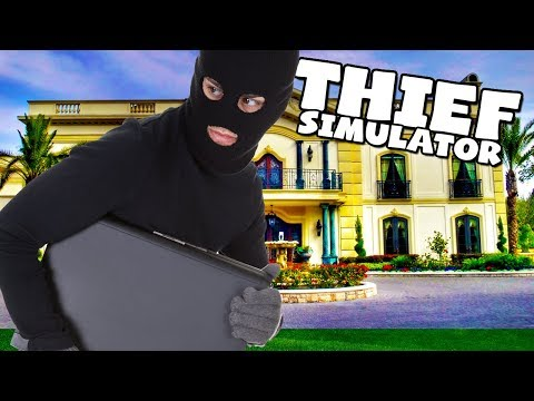 MY MOST BOLD MOVE YET!! - THIEF SIMULATOR! #10