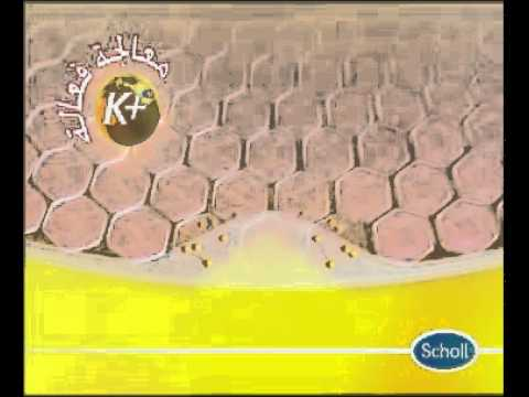 Scholl Cracked Heel Repair Cream K+ Arabic TV Ad