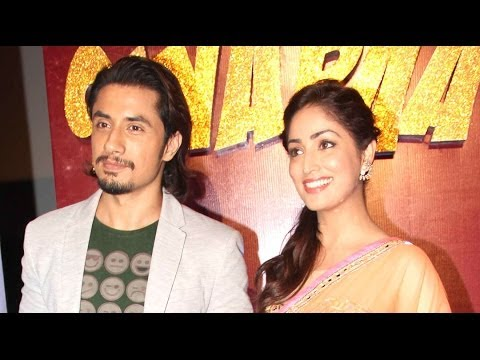 Ali Zafar and Yami Gautam at the trailer launch of Total Siyappa