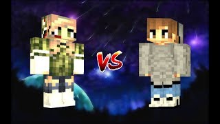 1v1 w/ Mustafa acc vs no acc | Pixel Gun 3D 1v1