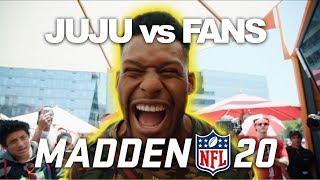 JuJu Plays Madden 20 at EA Play!