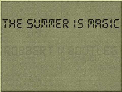 The summer is magic (Robbert v bootleg)