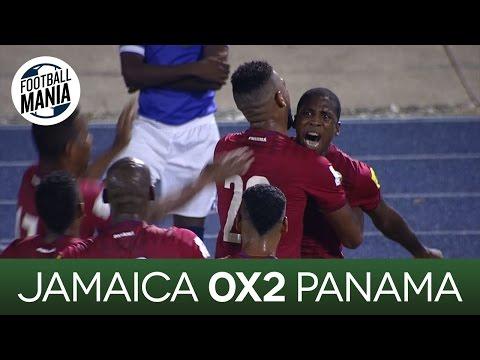 Jamaica 0x2 Panama - CONCACAF 2018 FIFA WCQ