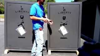 Liberty Safe Fat Boy VS Fat Boy Jr. Gun Safe Reviews Security Features