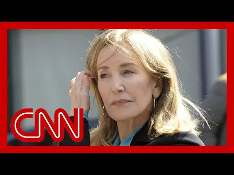 Felicity Huffman sentenced in college admissions scandal