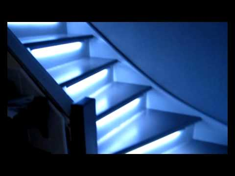 Eclairage automatique de mes escaliers youtube - Led escalier leroy merlin ...