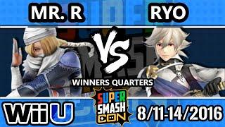 SSC 2016 SSB4 - Mr. R (Sheik) Vs. Noble | Ryo (Corrin, Ike) - Smash 4 - Smash Wii U