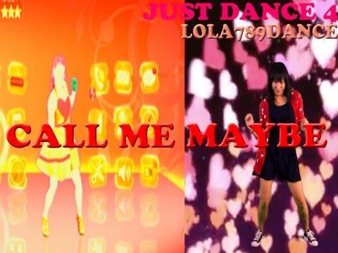 Just Dance 4 Kinect- Call Me Maybe (5 stars) Splitscreen