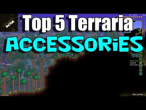 Top 5 Terraria 1.2 Accessories   Terraria 1.2 Gameplay