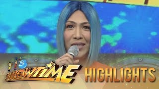 It's Showtime: Vice Ganda tries to answer the question from 'Miss Q and A The Final Answer'