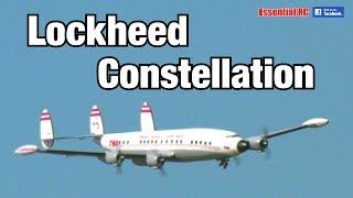 SUPER SCALE Electric RC LOCKHEED CONSTELLATION Airliner