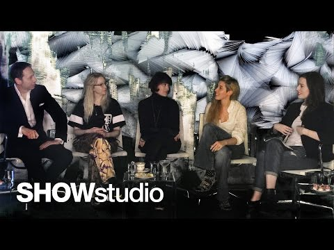 SHOWstudio: Iris Van Herpen Womenswear - Autumn / Winter 2014 Panel Discussion