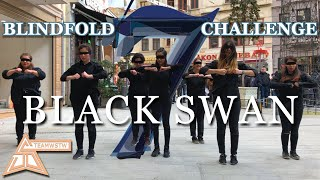 [KPOP IN PUBLIC TURKEY][BLINDFOLD CHALLENGE][ENG] BTS (방탄소년단) - Black Swan Dance Cover [TEAMWSTW]
