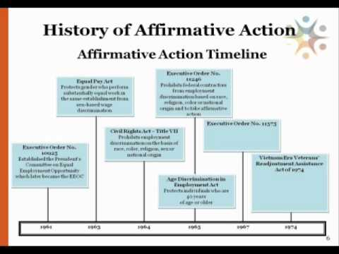 Affirmative Action Essays