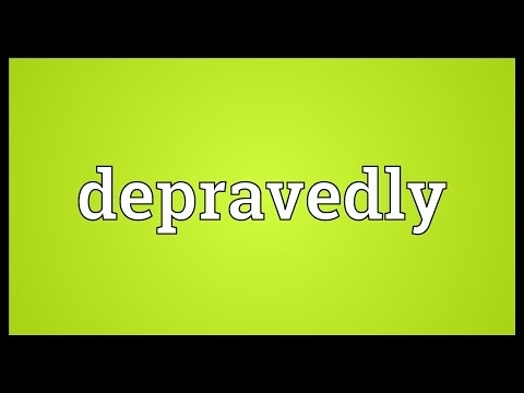 Header of depravedly