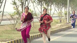 Pakistani Women POLICE RACE