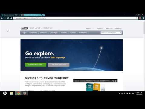 ESET Smart Security 7 Full Español/Licencias de Por Vida (Nuevo video en la Descripción).