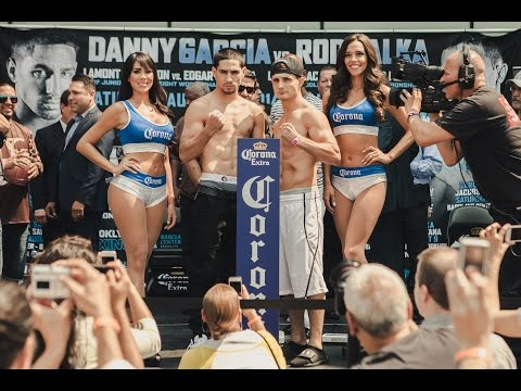 Weigh-In Live: Garcia vs. Salka - SHOWTIME Boxing