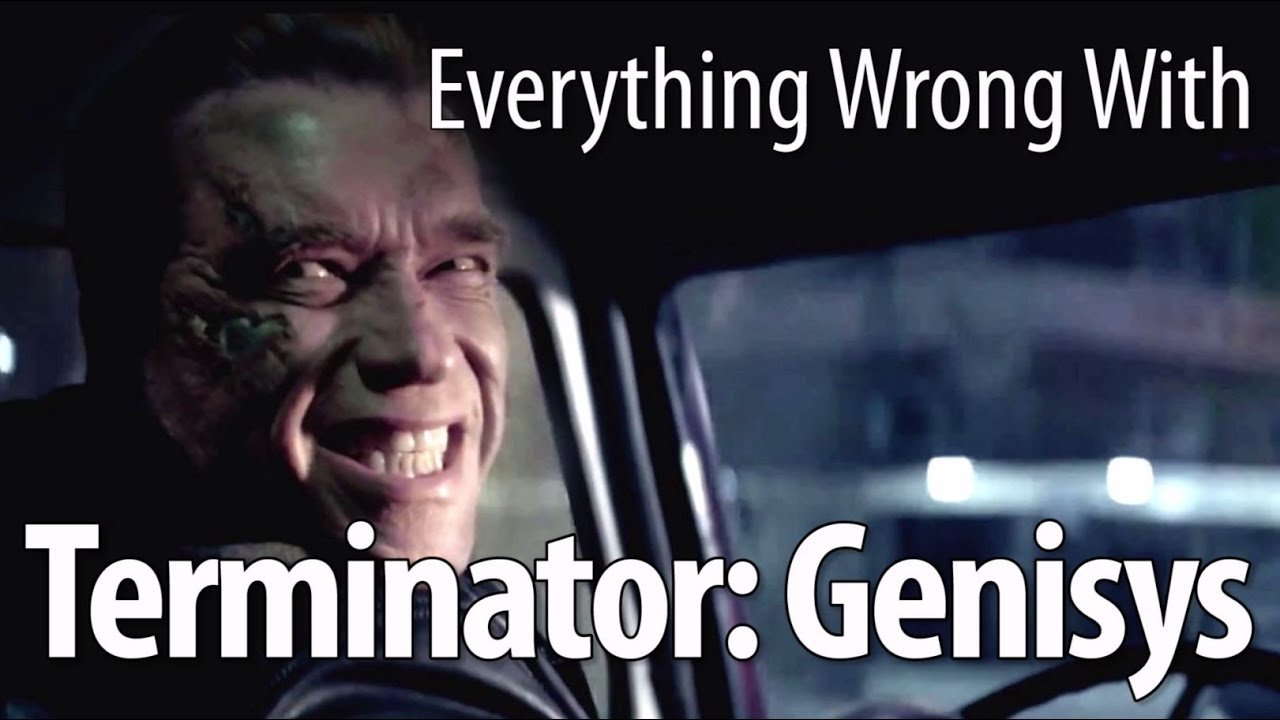 Everything Wrong With Terminator Genisys In 17 Minutes Or Less